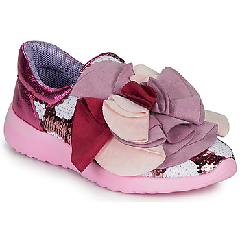 Chaussures Femme Baskets basses Irregular Choice RAGTIME RUFFLES Rose