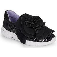 Chaussures Femme Baskets basses Irregular Choice RAGTIME RUFFLES Noir