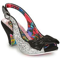 Chaussures Femme Escarpins Irregular Choice HIYA SYNTH Argent / Noir