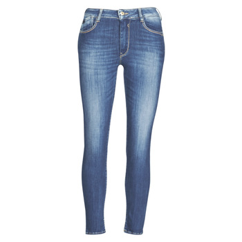 Vêtements Femme Jeans slim Le Temps des Cerises PULP SLIM TAILLE HAUTE 7/8 Bleu