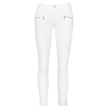Vêtements Femme Jeans skinny Le Temps des Cerises KIEV SKINY7/8 WHITE