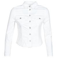 Vêtements Femme Vestes en jean Le Temps des Cerises LILLY Blanc