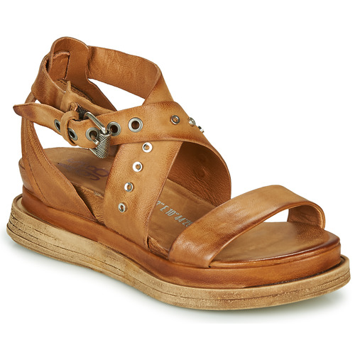 Chaussures Femme Sandales et Nu-pieds Airstep / A.S.98 LAGOS 2 Camel