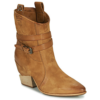 Chaussures Femme Boots Airstep / A.S.98 TINGET Camel
