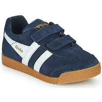 Chaussures Enfant Baskets basses Gola HARRIER VELCRO Marine