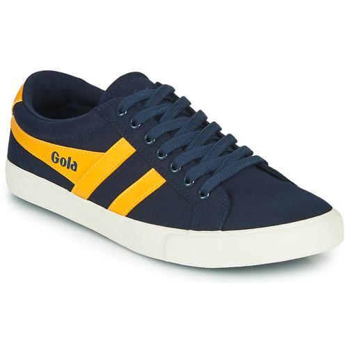 Chaussures Homme Baskets basses Gola VARSITY Marine / jaune