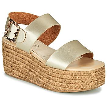 Chaussures Femme Sandales et Nu-pieds MTNG  Doré
