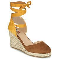 Chaussures Femme Sandales et Nu-pieds MTNG  Marron / Moutarde
