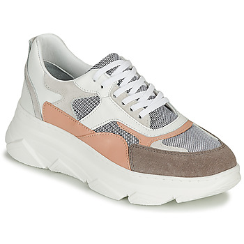 Chaussures Femme Baskets basses Sweet Lemon ALISHA Blanc / Gris / Nude