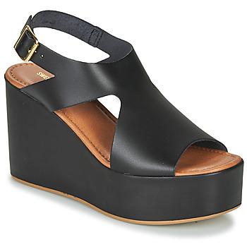 Chaussures Femme Sandales et Nu-pieds Sweet Lemon IJOX Noir