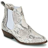 Chaussures Femme Boots Sweet Lemon DAWI Crème