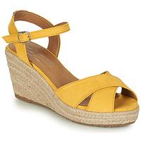 Chaussures Femme Sandales et Nu-pieds Tom Tailor NEMI Jaune