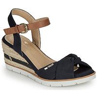 Chaussures Femme Sandales et Nu-pieds Tom Tailor NAMI Marine
