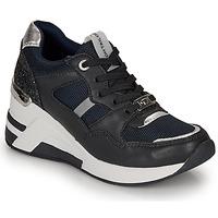 Chaussures Femme Baskets basses Tom Tailor  Marine / Noir