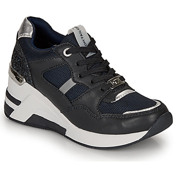 Chaussures Femme Baskets basses Tom Tailor JISEL Marine / Noir