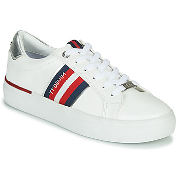 Chaussures Femme Baskets basses Tom Tailor  Blanc
