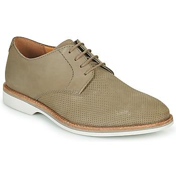 Chaussures Homme Derbies Clarks ATTICUS LACE Beige