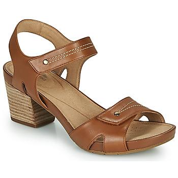 Chaussures Femme Sandales et Nu-pieds Clarks UN PALMA VIBE Camel