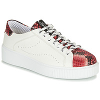 Chaussures Femme Baskets basses Tosca Blu CAMELIA Blanc / Rouge