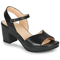 Chaussures Femme Sandales et Nu-pieds Wonders NATURE-CUERO Noir