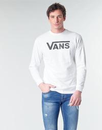 Vêtements Homme T-shirts manches longues Vans VANS CLASSIC Blanc