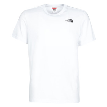 Vêtements Homme T-shirts manches courtes The North Face S/S REDBOX Blanc