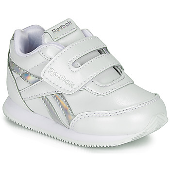 Chaussures Fille Baskets basses Reebok Classic REEBOK ROYAL CLJOG Blanc / Argent