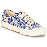 Chaussures Femme Baskets basses Superga 2294-COTFANW Beige / Bleu