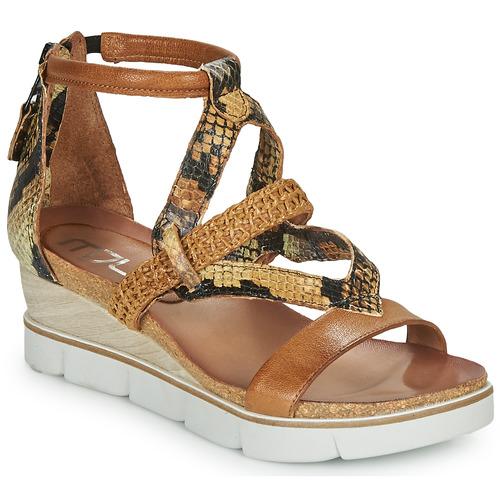 Chaussures Femme Sandales et Nu-pieds Mjus TAPASITA Marron / Pyton