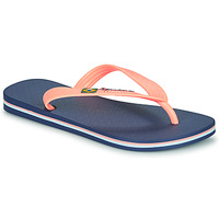 Chaussures Fille Tongs Ipanema CLAS BRASIL II Bleu / Orange