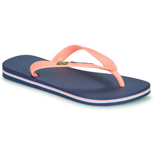 Chaussures Enfant Tongs Ipanema CLAS BRASIL II Bleu / Orange