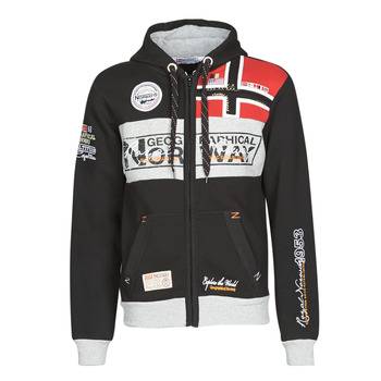 Vêtements Homme Sweats Geographical Norway FLYER Noir