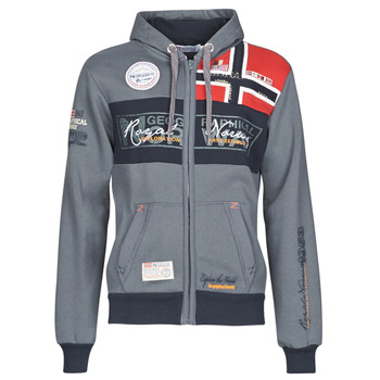 Vêtements Homme Sweats Geographical Norway FLYER Gris Foncé