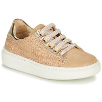 Chaussures Fille Baskets basses Shoo Pom FLASH ZIP LACE Beige