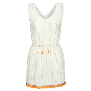 Vêtements Femme Robes courtes Banana Moon MARZUL MANDALO Blanc / Orange