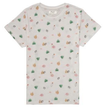 Vêtements Fille T-shirts manches courtes Deeluxe ELINA Blanc
