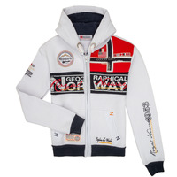 Vêtements Garçon Sweats Geographical Norway FLYER Blanc