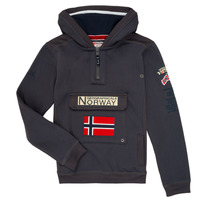Vêtements Garçon Sweats Geographical Norway GYMCLASS Gris