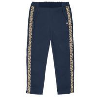 Vêtements Fille Pantalons fluides / Sarouels Ikks NATHAN Marine
