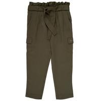 Vêtements Fille Pantalons fluides / Sarouels Ikks ALEXIA Kaki