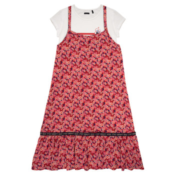 Vêtements Fille Robes courtes Ikks LUTHANA Multicolore