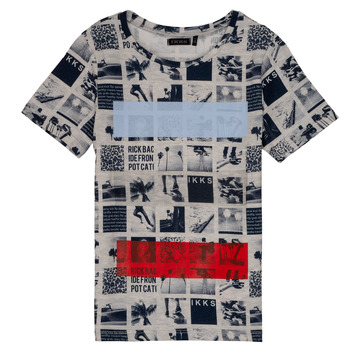 Vêtements Garçon T-shirts manches courtes Ikks YVES Beige