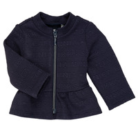 Vêtements Fille Gilets / Cardigans Ikks ANE Marine