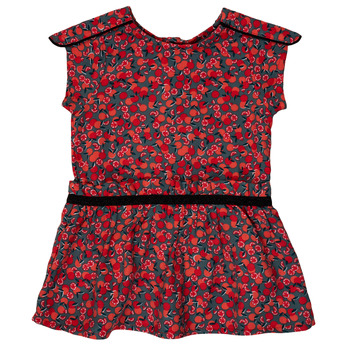 Vêtements Fille Robes courtes Ikks MAGGIE Gris / Rouge