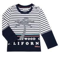 Vêtements Garçon T-shirts manches longues Ikks LAURA Multicolore
