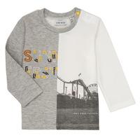 Vêtements Garçon T-shirts manches longues Ikks MAELINO Gris
