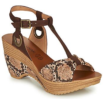 Chaussures Femme Sandales et Nu-pieds Chattawak JENNY Python