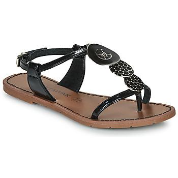 Chaussures Femme Sandales et Nu-pieds Chattawak PIPA Noir
