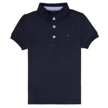 Vêtements Garçon Polos manches courtes Tommy Hilfiger  Marine
