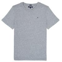 Vêtements Garçon T-shirts manches courtes Tommy Hilfiger  Gris